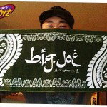 B.I.G. JOE BIG LOGO PAISLEY TOWEL