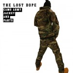 【限定!】THE LOST DOPE CAMOUFLAGE ARMY JACKET & PANTS