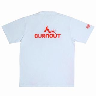 BURNOUT×WRITERS-TEE-WHITE