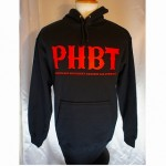 【NEW ARRIVAL!!!】PROHIBIT/PHBT PULLOVER HOOD[BLACK&RED]