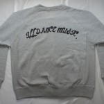 ILL DANCE WEAR / BD JUMPER GRAY
