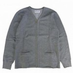 PHBT ZIP CARDIGAN GREY