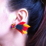 [LADIES ACCESSORIES] R.M.GLIM EARDRESS ORIAGAMI