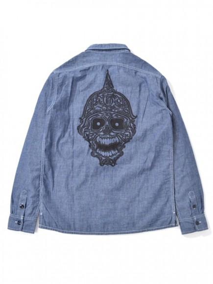Prohibit-SkullWorkShirts-Chambray