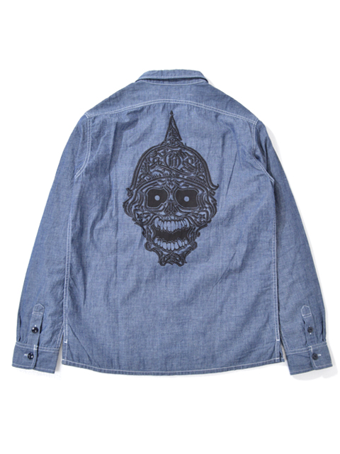 Prohibit-SkullWorkShirts-Chambray