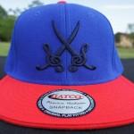 TRI-CAP-BLUE&RED